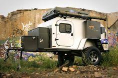 Industrial Teardrop Camper