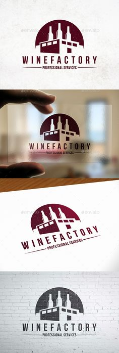 Industry Wine Label Logo