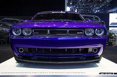 Purple Dodge Challenger - my dream car!