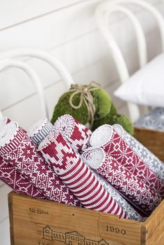 Christmas table runners Photo Carina Gran