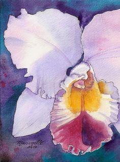 Watercolor-Orchid