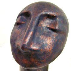 abstract head sculpture - Buscar con Google