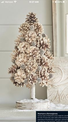 Diy Christmas Ornaments, Homemade Christmas, Diy Christmas Gifts, Rustic Christmas, Christmas Projects, Winter Christmas, Holiday Crafts, Christmas Time, Christmas Wreaths