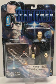 - 1996 Playmates Star Trek First Contact Captain Jean-Luc Picard Engineering Kits, Star Trek Toys, Star Trek Action Figures, Warp Drive, Start Trek, Lt Commander, Starship Enterprise, First Contact