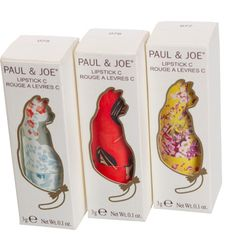 I love all the Paul & Joe cosmetics packaging!