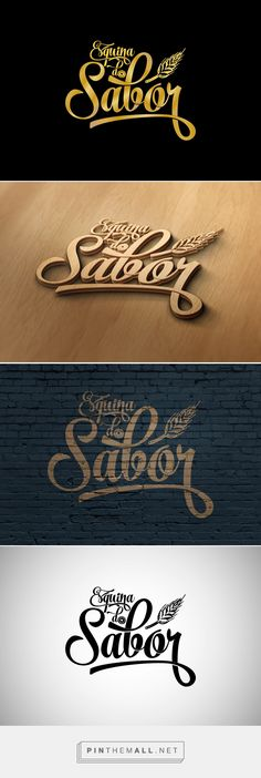 Esquina do Sabor | Logo Concept on Behance - created via http://pinthemall.net