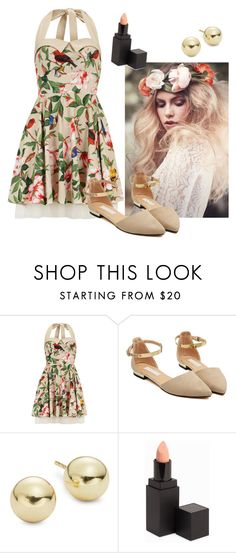 """""""1950s"""" by charlotteh2001 ❤ liked on Polyvore featuring Dorothy Perkins, WithChic, Lord & Taylor and MAKE UP STORE"""