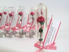 I have decided these are my wedding favours, but I'll do them better. Have ordered 100 plastic test tubes with stoppers yay x