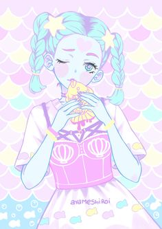 ayameshiroi #pastelgoth