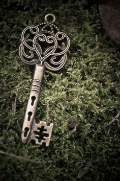 Is this the key to my secret garden? Under Lock And Key, Key Lock, Antique Keys, Vintage Keys, Cles Antiques, Old Keys, Knobs And Knockers, Key Jewelry, Key To My Heart