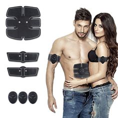 ABS Stimulator Portable Ultimate Abdominal Muscle Toner Unisex Massage Toning Belt for Abdomen/Arm/Leg Training. EMS Fitness Technology:EMS (Electrical Muscle Stimulation) through stimulation, directly send signal to muscles and promote muscles movement. All you need to do is to fit the abs pads to your body and let them exercise your muscles. Functions:Our training equipment can simulated arm training, abdominal training, waist training, back muscle training, adopt 6 different modes of...