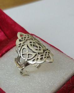 Vintage Ringe - Nostalgischer Ring Silber 925 Handarbeit SR705 - ein Designerstück von Atelier-Regina bei DaWanda