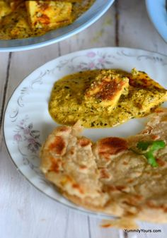 Lasooni Methi Paneer (or cheese in garlic curry) uses coconut milk for a light creamy taste, can be made low cal/vegan by using Tofu & is easy to make Prawn Recipes, Paneer Recipes, Gujarati Recipes, Veg Recipes, Indian Food Recipes, Vegetarian Recipes, Snack Recipes, Cooking Recipes, Recipies