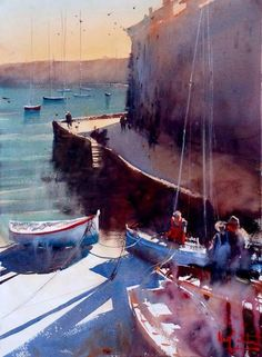 Alvaro Castagnet #watercolor jd