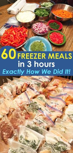 11 Essential Tips for Bulk Crockpot Freezer Meals – Read This FIRST! 11 tips and recipes for how to make ahead delicious crockpot freezer meals for two or a family of six! Freezer cooking healthy food is a perfect gift for new moms! Slow Cooking, Batch Cooking Freezer, Bulk Cooking, Budget Freezer Meals, Slow Cooker Freezer Meals, Make Ahead Freezer Meals, Healthy Meals To Cook, Healthy Cooking, Cooking Recipes