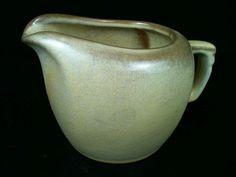 Vintage Frankoma Pottery Desert Gold Creamer 5A Western Rustic Tableware Kitchen