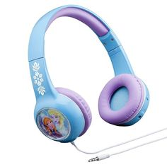 Disney's Frozen Elsa & Anna Light-Up Headphones, Multicolor Toddler Girl Gifts, Baby Girl Toys, Toys For Girls, Frozen Elsa And Anna, Disney Frozen Elsa, Elsa Anna, Light Up Headphones, Kids Headphones, Disney Princess Toys