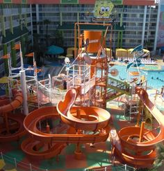 Nickelodeon Suites Resort: A Hotel & Water Park for a Splashing Good Time