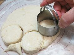 How to prepare homemade biscuit dough for the freezer so it's ready to pop in the oven -- as many or as few as you want, whenever you want them!