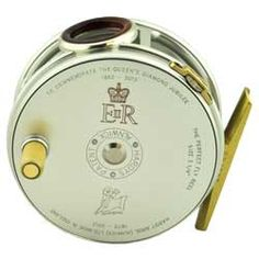 Hardy Perfect Diamond Jubilee Commemorative Fly Reel - very patriotic. Fly Fishing Books, Fly Fishing Gifts, Fly Fishing Tackle, Fishing World, Best Fishing, Fishing Reels, Fishing Stuff, Photos Of Fish, Bamboo Fly Rod