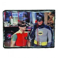 a79a02b66b DC Comics Batman 1966 Tv Series Batcave Granix Art Plaque Batman Tv Series