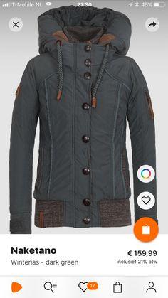64 cm Details: -De vele leuke, functionele details maken deze gewatteerde  jas met een hoogwaardige vulling van dons en veren perfect ...