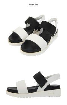 c5e03d68800665 Banded Summer Sandals  stylenanda