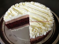 Slovak Recipes, Russian Recipes, Vanilla Cake, Nutella, Cheesecake, Food And Drink, Cooking Recipes, Pie, Sweets