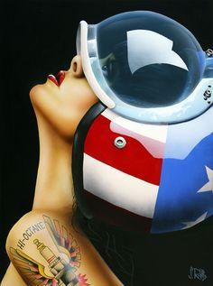 High Octane - Scott Rohlfs - motorcycle helmet