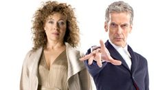 """ksc """"This is why I do need to come back because I need to put Peter Capaldi's character in his place."""" — Alex Kingston"""