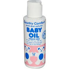 country comfort baby oil wonderful for baby massage or moisturising after baby's bath. Suitable for prone skin to mild eczema