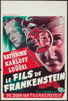 Son of Frankenstein (Universal International, R-1950s)