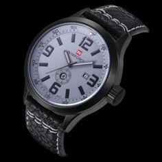 Pánské hodinky Naviforce ve stříbrném barevném provedení – hodinky Na tento  produkt se vztahuje nejen zajímavá a40606a1319