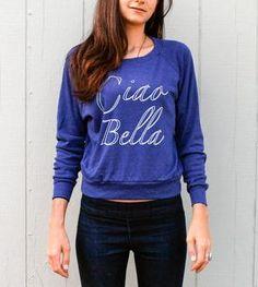 Ciao Bella Long-Sleeve T-Shirt