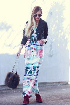Long Dress + Blazer