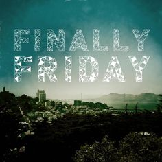 What will you do on this last Friday of the semester in the #bestcityever?