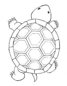 Drawing turtles step by step drawing of a turtle tortoise simple drawing turtle think of all Cute Turtle Tattoo, Turtle Tattoo Designs, Sea Turtle Tattoos, Ocean Tattoos, Tribal Tattoos, Mosaic Patterns, Embroidery Patterns, Colouring Pages, Coloring Books