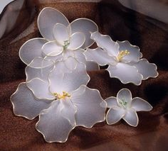 nylon flowers | make the nylon flowers in the bouquet you can check it out here on my ...