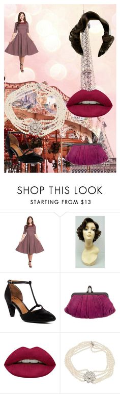 """""""Carousel"""" by jujubee-964 on Polyvore featuring Söfft, Christian Louboutin and Huda Beauty"""