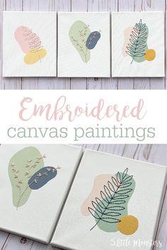 Modern Canvas Art, Mini Canvas Art, Diy Canvas, Modern Art, Best Abstract Paintings, Canvas Paintings, Abstract Canvas Art, Contemporary Paintings, Simple Wall Art