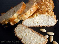 Receita Pão de iogurte com amêndoas, de Erva Doce e Canela - Petitchef