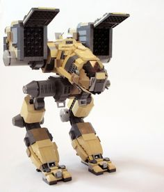Lego mechwarrior Catapault