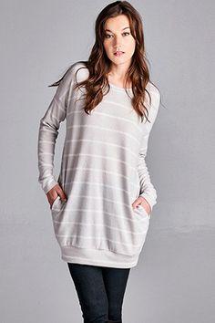 Striped Simplicity Pullover