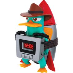Perry the Platypus alarm clock!