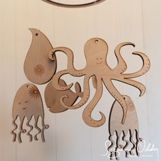 Suzanne Oddy Design Limited — Wooden Sea Creatures or Dinosaurs ...