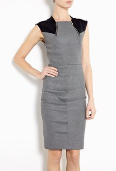 Cambra Fitted Dress by Sportmax Dresses 2013, Spring Summer Fashion, Work Wear, Night Out, That Look, Cute Outfits, Dresses For Work, My Style, Fitness