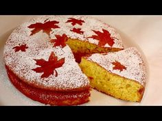 Ak máte pár minút, pripravte si tento koláč! Krásne a ľahké! # 448 - YouTube Cake, How To Make, Orange, Deserts, Kuchen, Simple, Nice Asses, Pastel, Cakes
