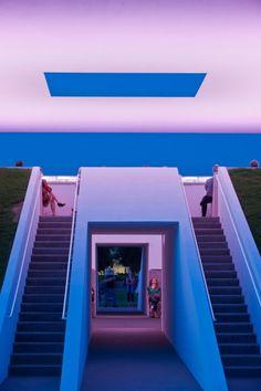 James Turrell – Twilight Epiphany Skyspace @ Rice University