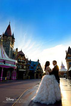 Enjoy a portrait session at Magic Kingdom and create memories bursting with Disney magic