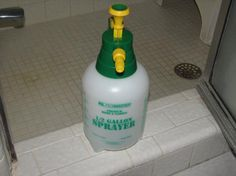 shower cleaner once a week no shower mold ever again recipe